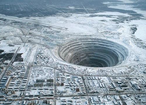 Dünyanın en büyük elmas madeni